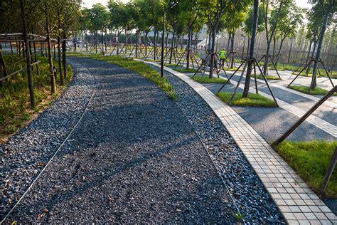 yanweizhou paving landscape architecture platform