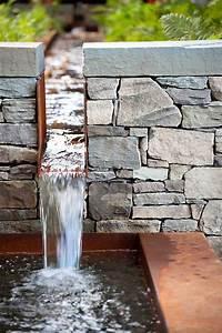 Steinmauer Mit Wasserfall : 583 besten wasser bilder auf pinterest teiche bachlauf und gartenteiche ~ Sanjose-hotels-ca.com Haus und Dekorationen