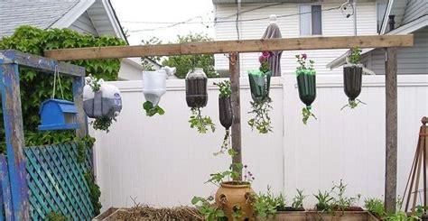 vasi con bottiglie plastica bottiglie di plastica come realizzare vasi per coltivare