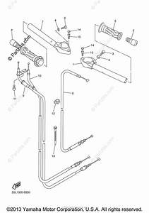 Yamaha Motorcycle 2004 Oem Parts Diagram For Steering