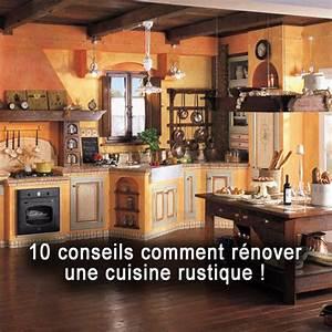 Comment Renover Une Cuisine : 10 conseils comment r nover une cuisine rustique ~ Nature-et-papiers.com Idées de Décoration