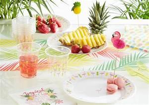 Chemin De Table Tropical : guide d co tendance exotique gifi ~ Melissatoandfro.com Idées de Décoration