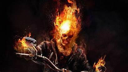 Rider Ghost Wallpapers Skull Theme Fantasy Pc