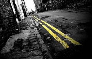Wallpaper, Sunlight, Street, Night, Urban, Reflection, Shadow, Yellow, Lines, Back, Decay