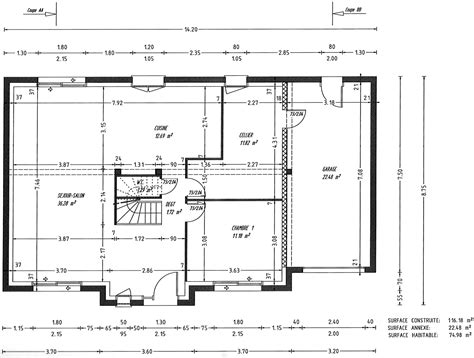plan maison 120m2 3 chambres plan maison 120m2 3 chambres