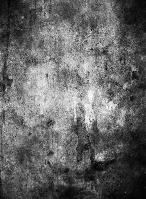 Black and white grunge texture Photoshop brush Grunge
