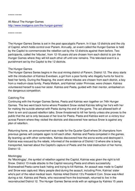 hunger games pdf download