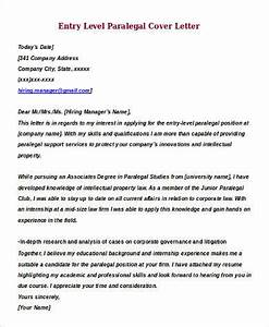 Free 9 Sample Entry Level Cover Letter Templates In Ms