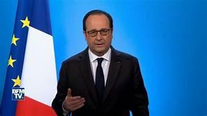 François Hollande: son discours de renoncement en intégralité