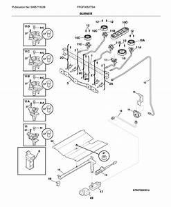 Frigidaire Model Ffgf3052tsa Free Standing  Gas Genuine Parts