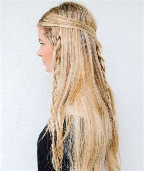 quick and easy hairstyles for layered hair 38 quick and easy braided hairstyles