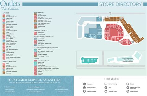 Outlets at San Clemente - store list, hours, (location ...