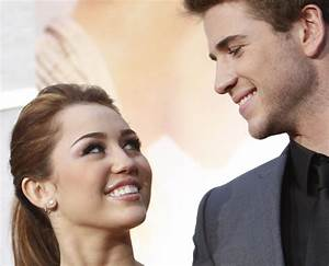 Miley Cyrus and Liam Hemsworth's love in pictures: Couple ...