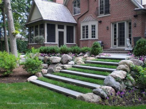 steps for landscaping a yard 28 best images about landscape steps on pinterest exposed aggregate river rocks and decks