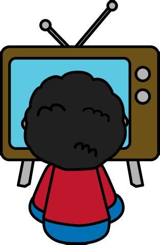 tv clipart child tv clip child tv image