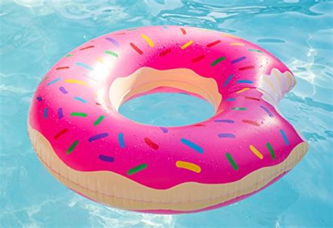 Giant Inflatable Pink Donut Pool Float