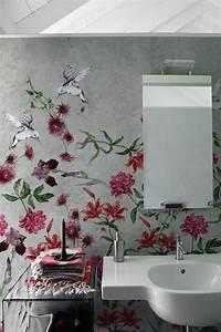 Tapete Für Badezimmer : tapete f r ein fugenloses bad foto wall deco fliesen fugenloses bad badezimmer tapete ~ Watch28wear.com Haus und Dekorationen