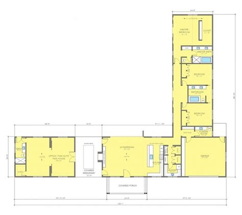 home design floor plans  shaped ranch
