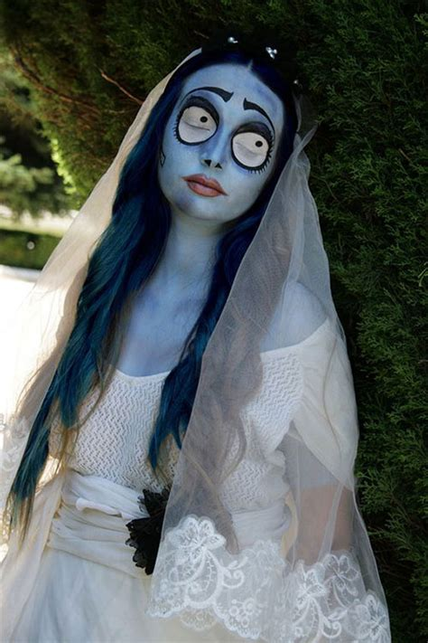 scary halloween corpse bride makeup ideas  girls women  modern fashion blog