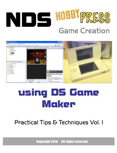 This is the basics of ds game maker ds game maker download: NDS Game Creation using DS Game Maker