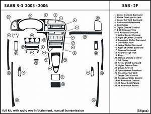 Saab 9 O Infotainment  Manual Shifter 03
