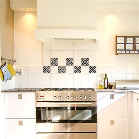 carreaux autocollants cuisine stickers autocollants carrelage carreaux ciment graphiques