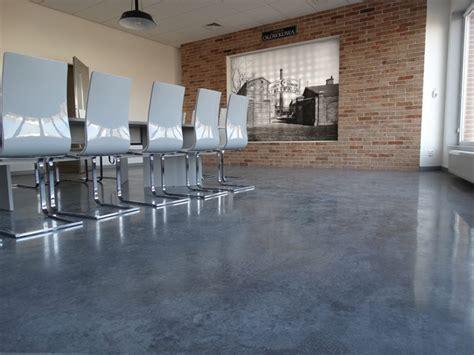 Office floor, Concrete thin layer   Bautech