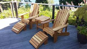 Seattle Adirondack Chairs and Cedar Outdoor Furniture