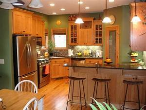 best 25 green kitchen walls ideas on pinterest green With kitchen colors with white cabinets with red and cream wall art