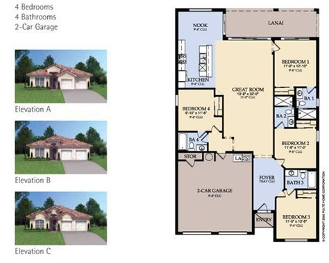 Windsor Hills Property Choice Style Floor Plan Options