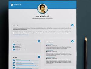 Free Visual Resume Templates 15 Free Creative Resume Templates For Photoshop And