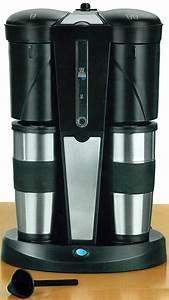 Kaffee Dauerfilter Edelstahl : kaffeemaschine mit 2 thermo becher edelstahl kaffee isobecher becher ebay ~ Orissabook.com Haus und Dekorationen