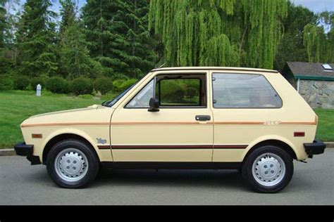 Found for Sale: 1987 Yugo GV Sport with only 1,800 miles ...