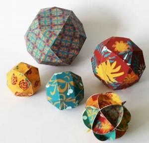 Origami Boule De Noel : 5 boules de no l en papier faciles faire soi m me ~ Farleysfitness.com Idées de Décoration