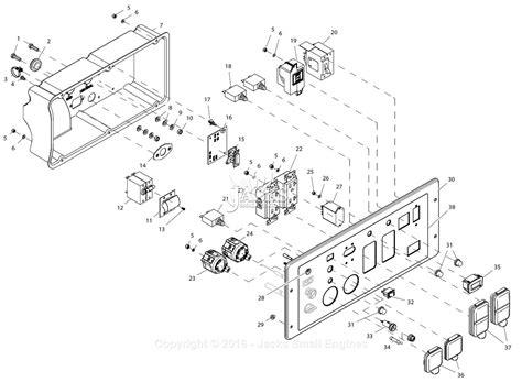 Generac Xpe Parts Diagram For Control Panel