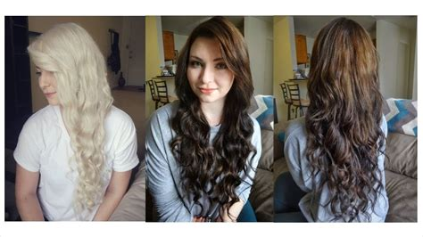 How I Dyed My Hair From Blonde To Brown And Some Random
