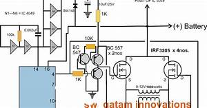 Full Bridge 1 Kva Inverter Circuit Using 4 N