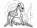 Ranch Coloring Pony Printable Freeprintablecoloringpages Horses sketch template