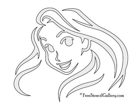 Rapunzel Pumpkin Template by Rapunzel Stencil Free Stencil Gallery