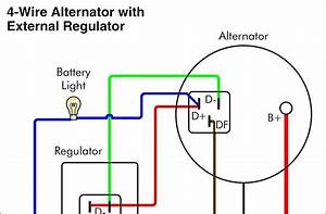 Ac Delco 3 Wire Alternator Wiring Diagram