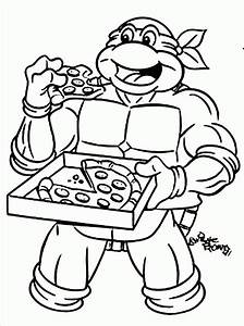 Ninja Turtles Coloring Pages Free Printable Coloring Home