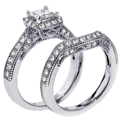 1 carat vintage princess cut wedding ring for jeenjewels