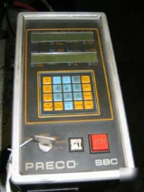 preco press hydraulic  post press roll feed system