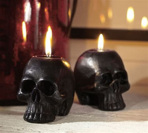 black skull candles pictures   images