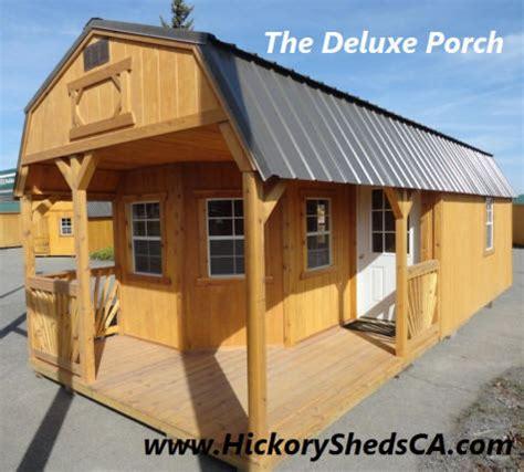 hickory sheds california buildings barns cabins