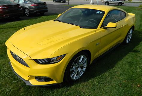 Triple Yellow 2015 Mustang  Paint Cross Reference