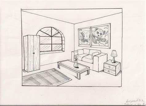 Living Room Drawing By Kj-art On Deviantart