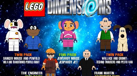 lego dimensions  character finishers youtube