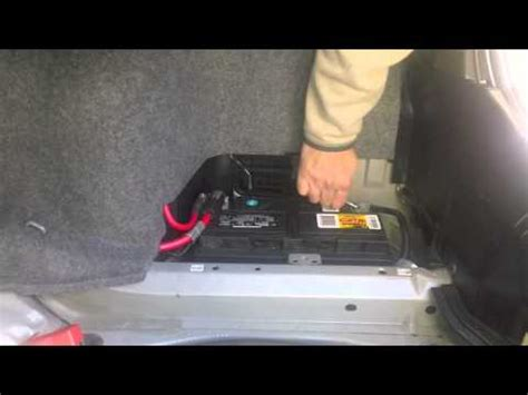 bmw xi battery change diy video youtube