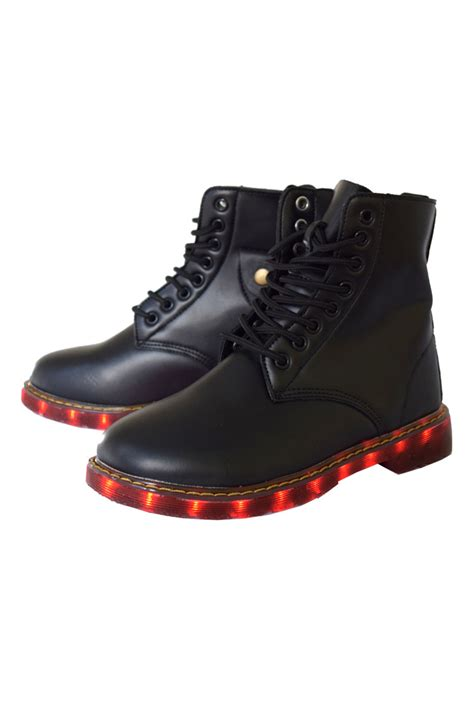 light up boots light up led boot